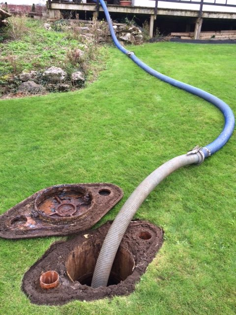 septic tank emptying ulverston